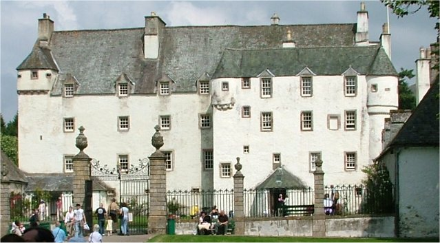 Traquair House; photo taken during the 2004 Tr...