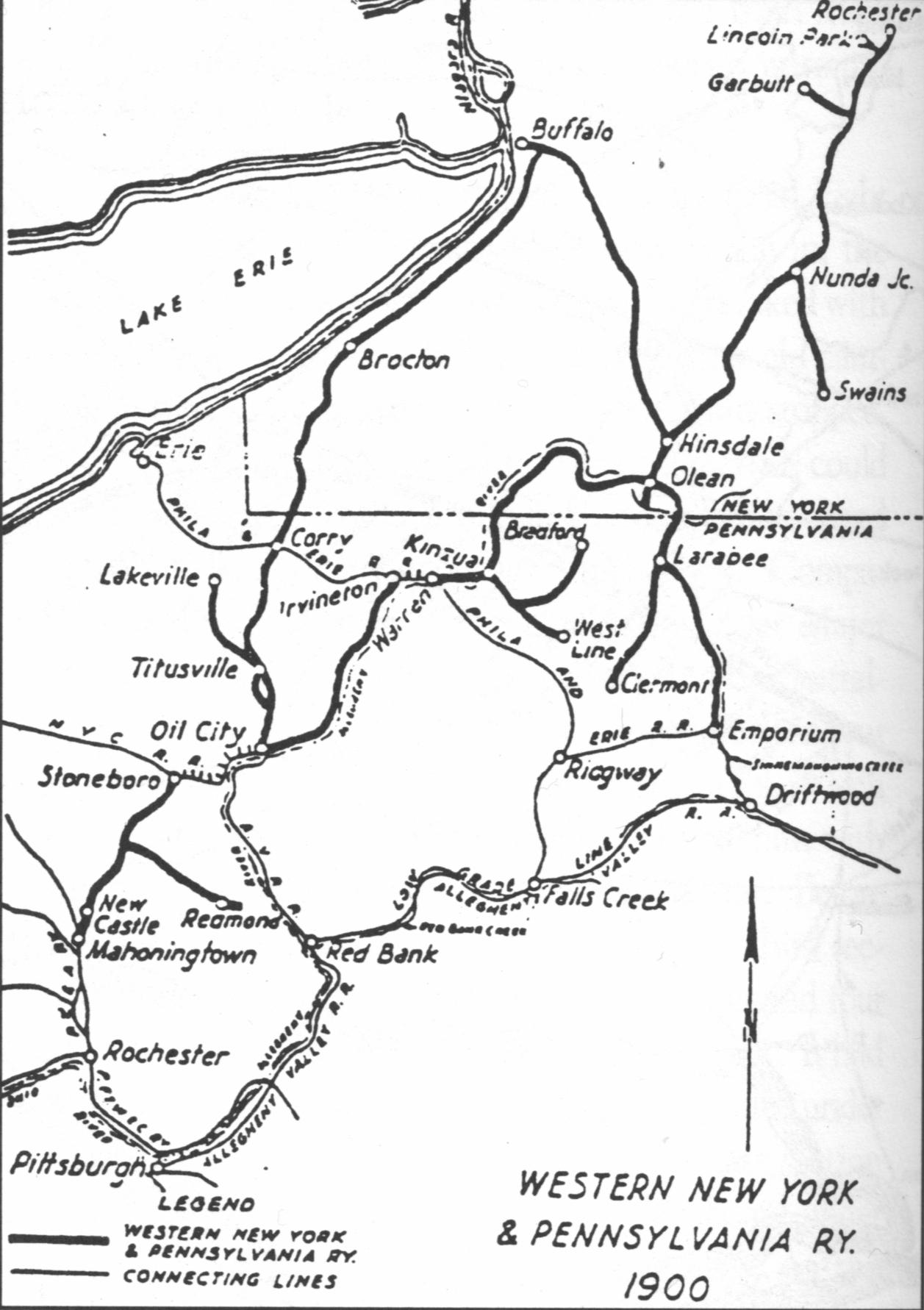 Western New York And Pennsylvania Railway