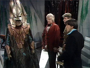 The Three Doctors (two pictured) - image from Wikipedia