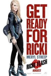Poster for 2015 musical dramedy Ricki and the Flash