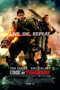 Poster for 2014 sci-fi actioner Edge of Tomorrow