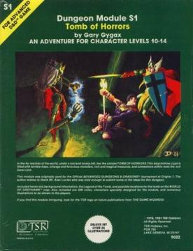 Tomb of Horrors advenure module