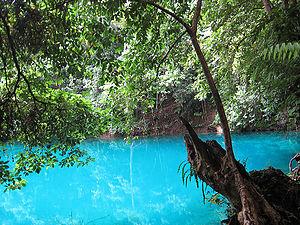 Lagoon in Santo