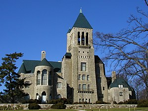 English: The exterior of the Glencairn Museum ...