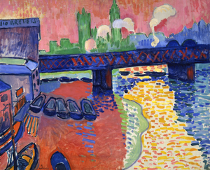 André Derain, Charing Cross Bridge, London (19...