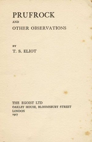 Book by T. S. Eliot