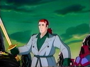 Connor in Highlander: The Animated Series