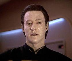 Spotlites Data from Star Trek pic