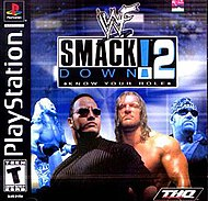 The cover art for the NTSC version of WWF SmackDown! 2: Know Your Role.