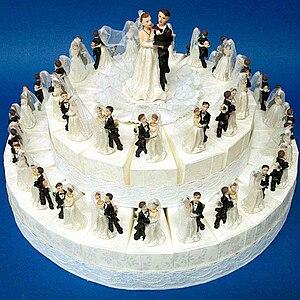 Favor Cake for wedding, with 40 carton boxes a...