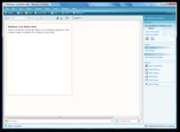 Windows Live Writer Beta running under Windows Vista.