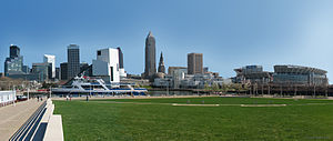 Downtown Cleveland in 2006