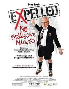"Cover of ""Expelled - No Intelligence Allowed"""