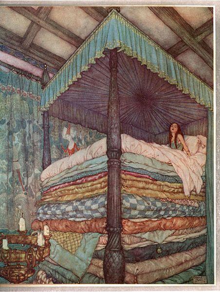 File:Edmund Dulac - Princess and pea.jpg