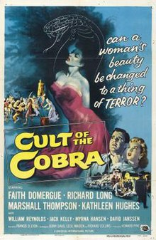 Image result for cult of the cobra 1955
