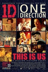 Poster for 2013 music documentary One Direction: This Is Us