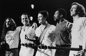 Left to right: Jerry Goodman, Jan Hammer, John...