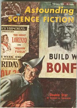 Cover of Astounding Science Fiction that carri...