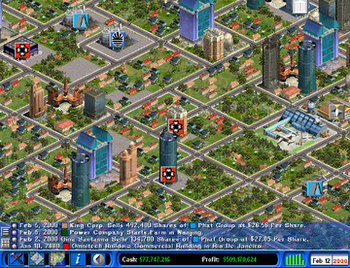 Capitalism II in-game.