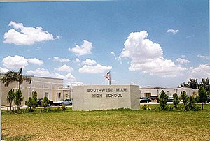Southwest Miami High School in Miami, Florida