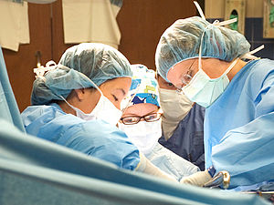 UW surgery and residents