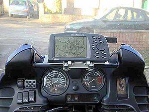 Garmin GPS riderview