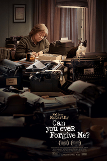 Image result for Can You Ever Forgive Me? poster
