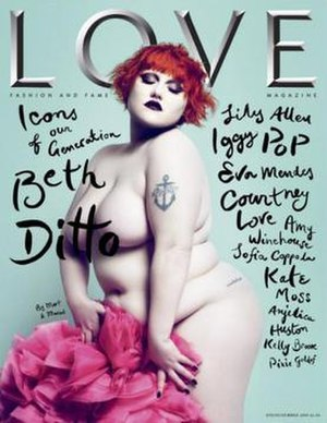 Ditto on the premiere cover of London's Love M...