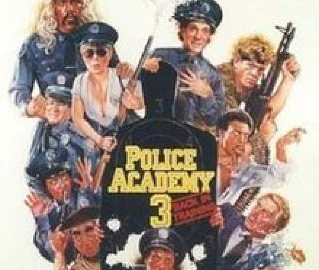 Back In Training Police Academy 3 Film Jpg
