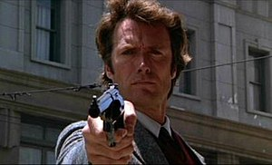 Harry Callahan, played by Clint Eastwood