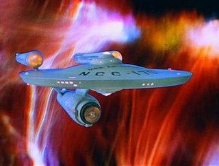 Ursprungliga Enterprise i den ursprungliga TV-serien