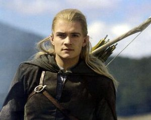 Orlando Bloom as Legolas in Peter Jackson's li...