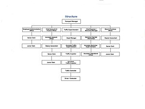 Organisational Structure of NMMT