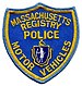 Massachusetts State Registry of Motor Vehicles...