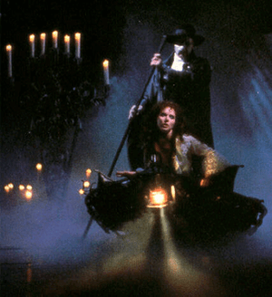 The 'boat scene' in Phantom is achieved using ...