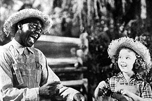 Robinson and Shirley Temple in Rebecca of Sunn...