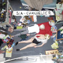 Sia Chandelier Png
