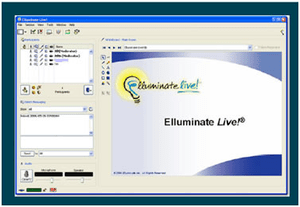 A screenshot of the Elluminate Live program
