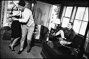 Marilyn Monroe, dancing with Eli Wallach, and ...