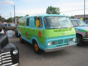 1968 Chevrolet Sportvan 108A painted as the My...
