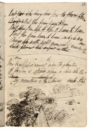 1819 draft of Julian and Maddalo. Bodleian Lib...