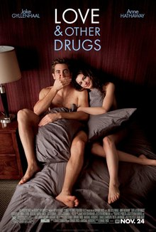 Love Other Drugs Jamie Jake Gyllenhaal And Maggie Anne Hathaway Are In Torn Blankets In