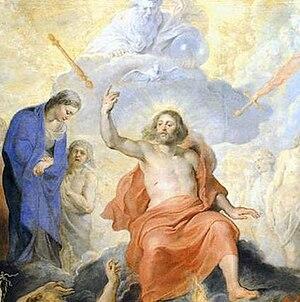 Rubens Last Judgment (detail) 1617