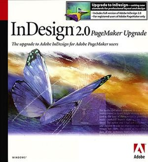 Adobe InDesign upgrade from PageMaker