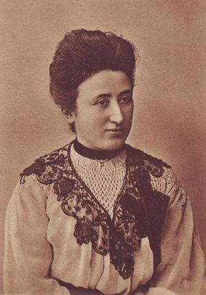 Rosa Luxemburg, circa 1908