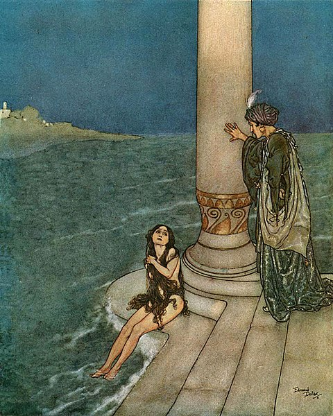 File:Edmund Dulac - The Mermaid - The Prince.jpg