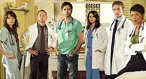 Final season cast (2008–2009)
