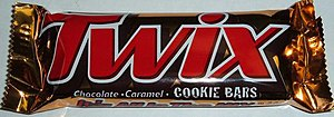 North American Twix wrapper used until 2010