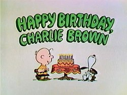 Happy Birthday Charlie Brown Wikipedia