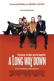 A long way down film poster